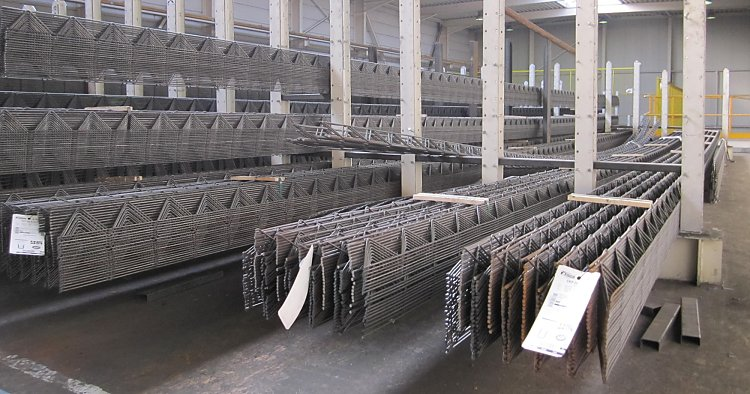 Invention of the lattice girder for precast elements