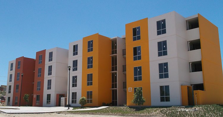 Precast housing, good quality of living conditions in the desert