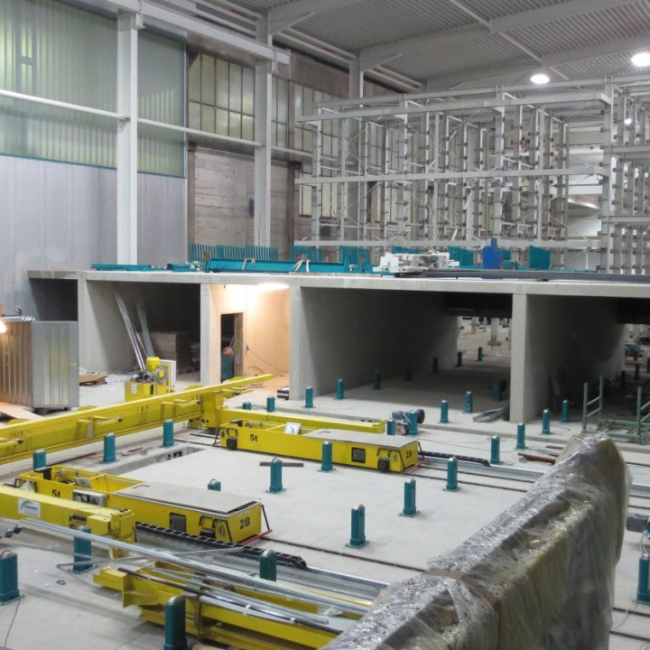 Production optimization precast plant: Upgrade and modification