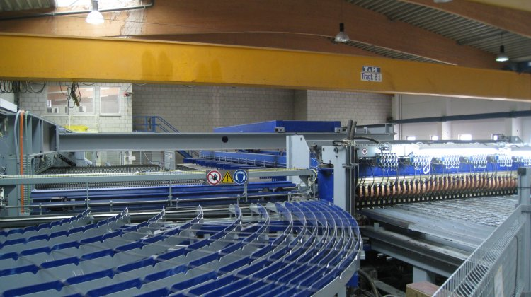 State-of-the-art mesh welding plant for precast production