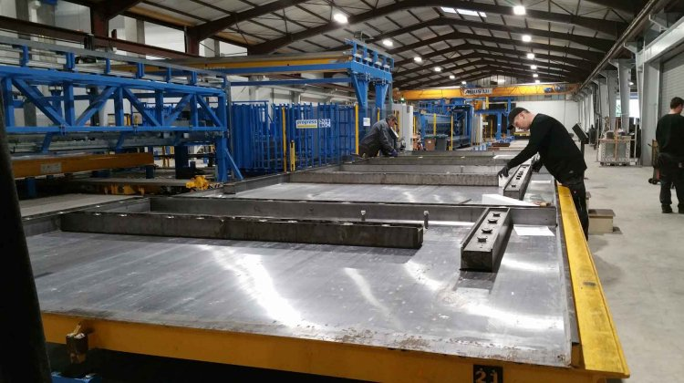 Modern precast production