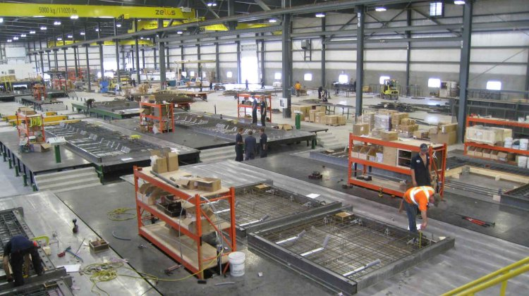 Expanding a precast production in Canada