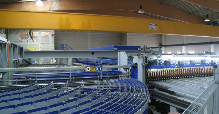 Elsäßer Reinforcement - State-of-the-art mesh welding plant for precast plant