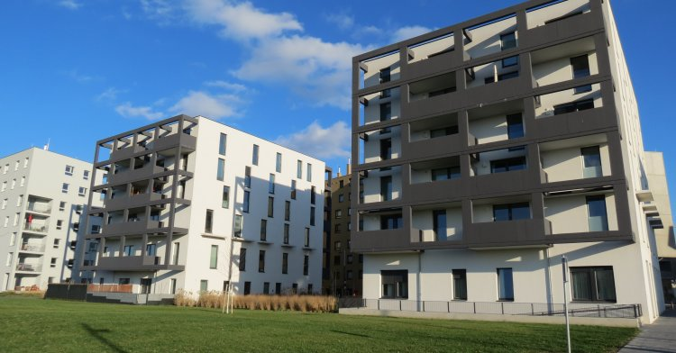 Eco friendliness - Seestadt Vienna: Sustainable construction with precast concrete elements