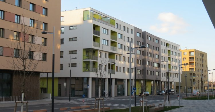 Mischek - Affordable housing with precast concrete elements